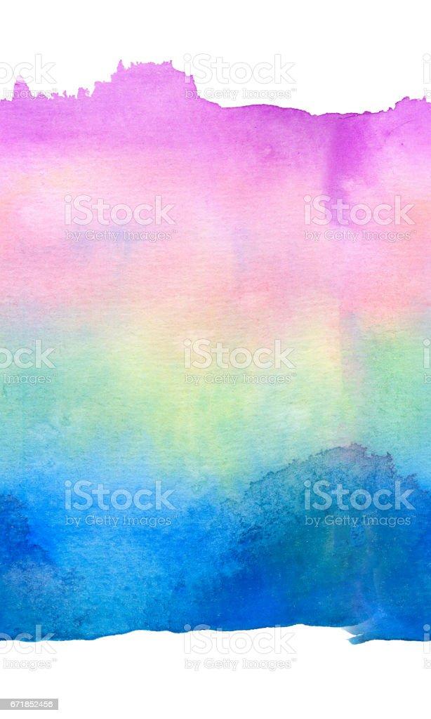 background in watercolor - Illustration vector art illustration