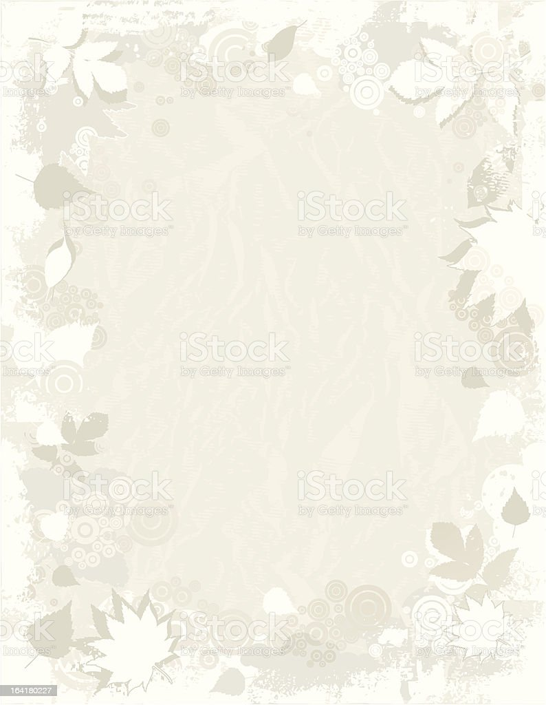 Background of leafs, vector royalty-free stock vector art
