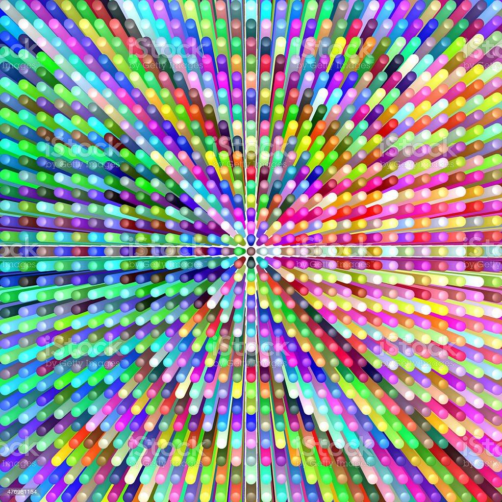 background of many tubes vector art illustration