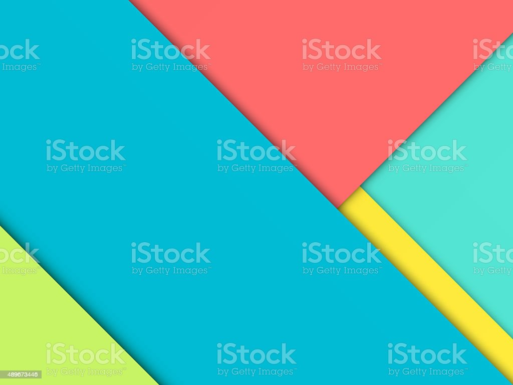 Background Unusual modern material design vector art illustration
