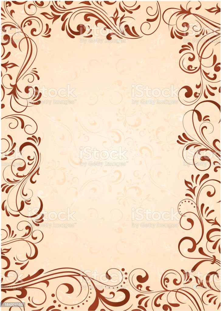 Background with frame royalty-free stock vector art