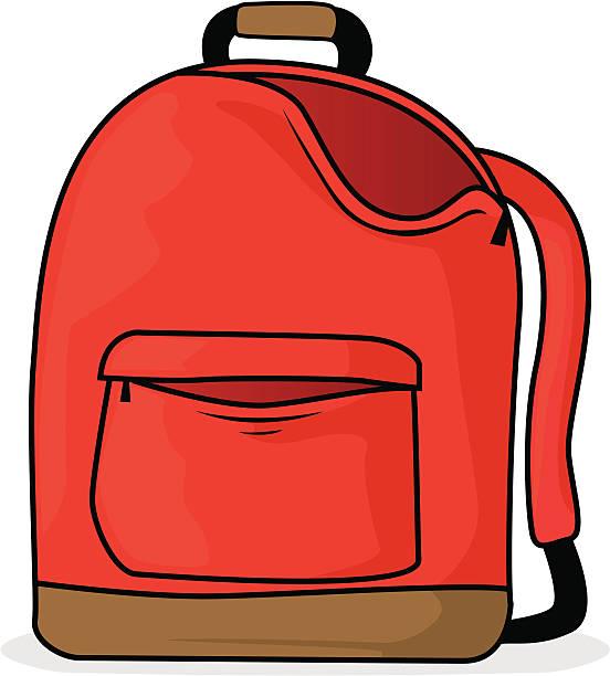 School Bag Clip Art, Vector Images & Illustrations
