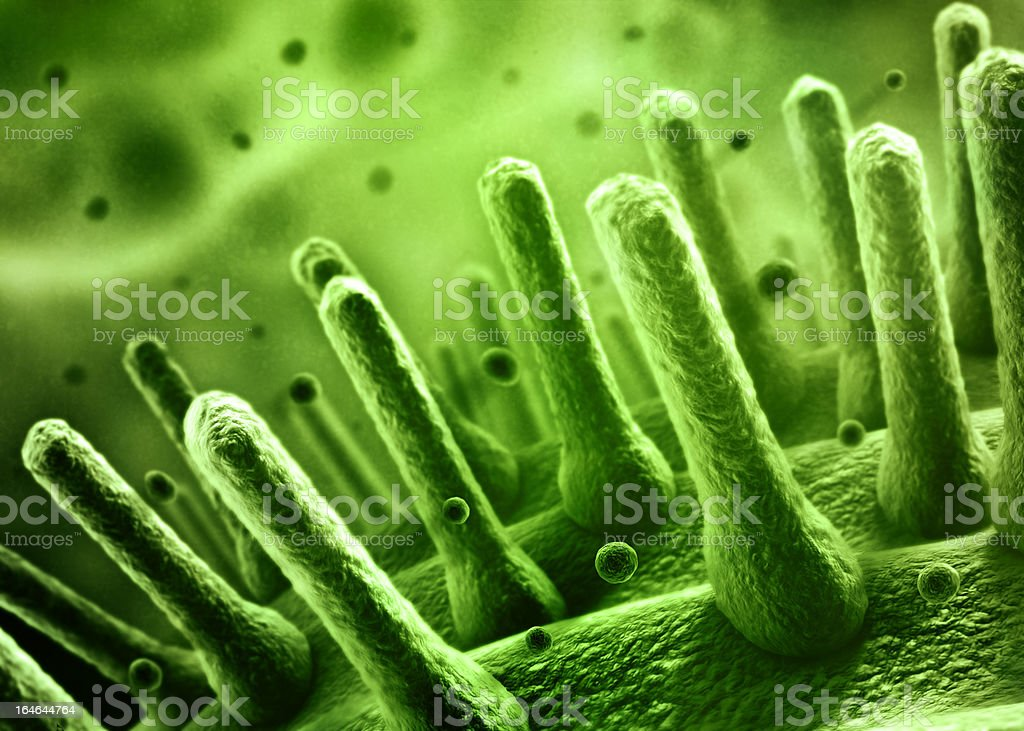 Bacteria concept royalty-free stock vector art