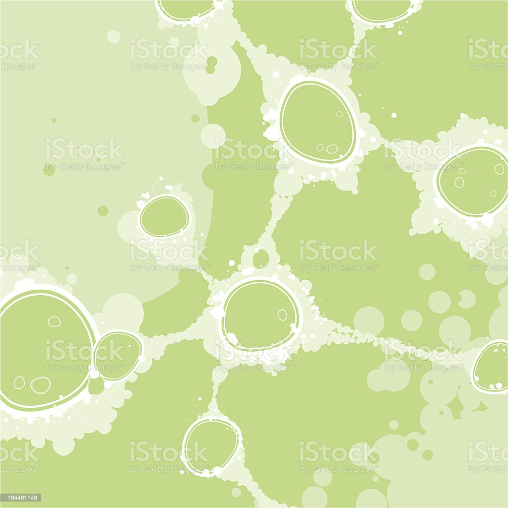 Bacterial colony royalty-free stock vector art