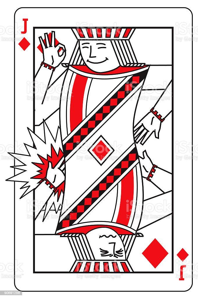 Bad Back Jack royalty-free stock vector art