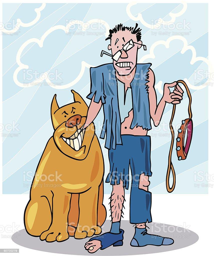 bad dog royalty-free stock vector art