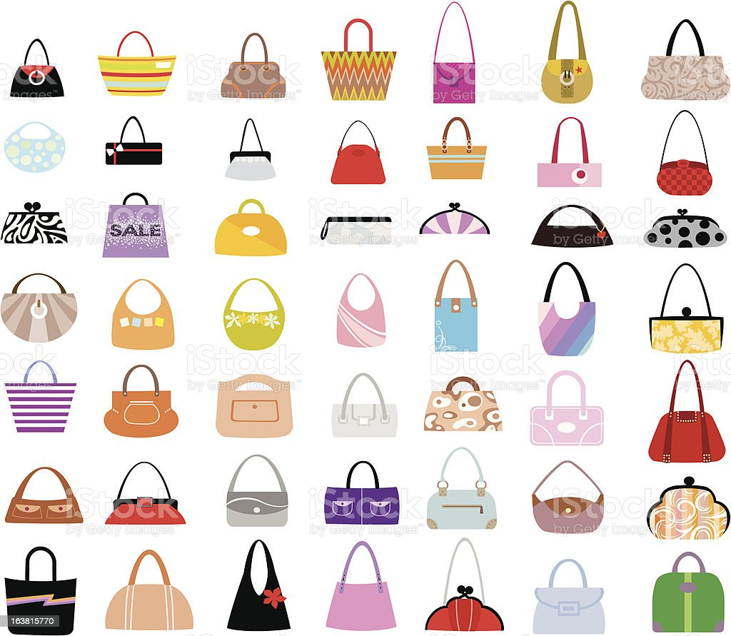 Bags royalty-free stock vector art