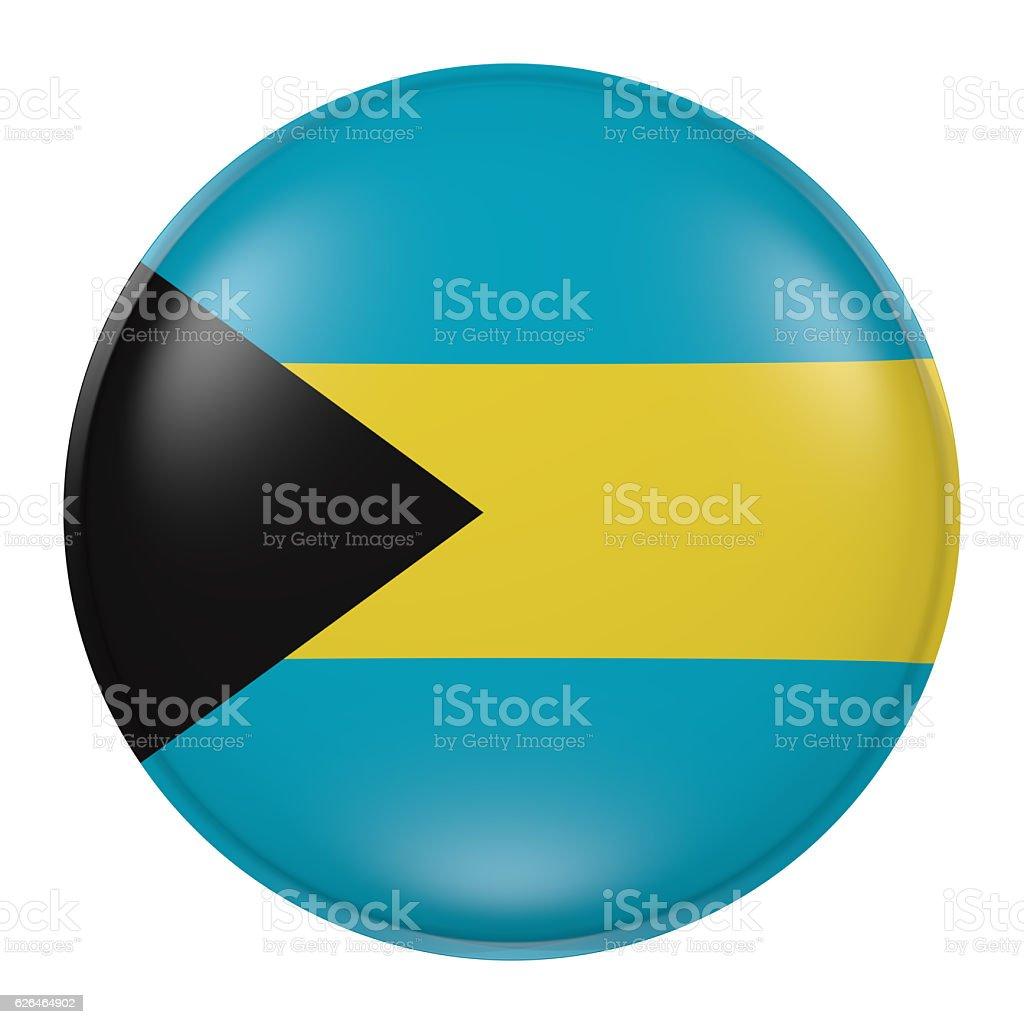 Bahamas button vector art illustration