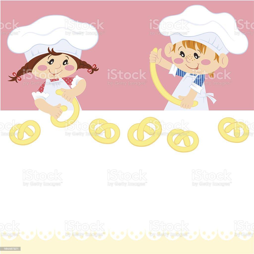 Baking royalty-free stock vector art