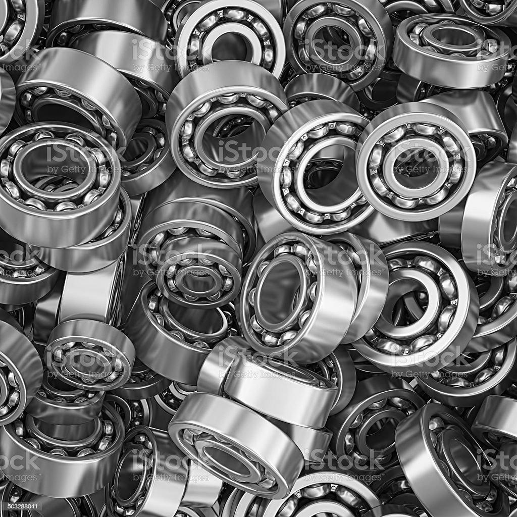 ball bearings vector art illustration