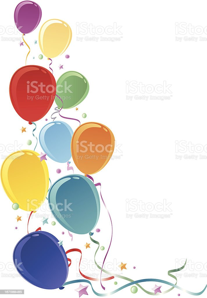 Balloons royalty-free stock vector art