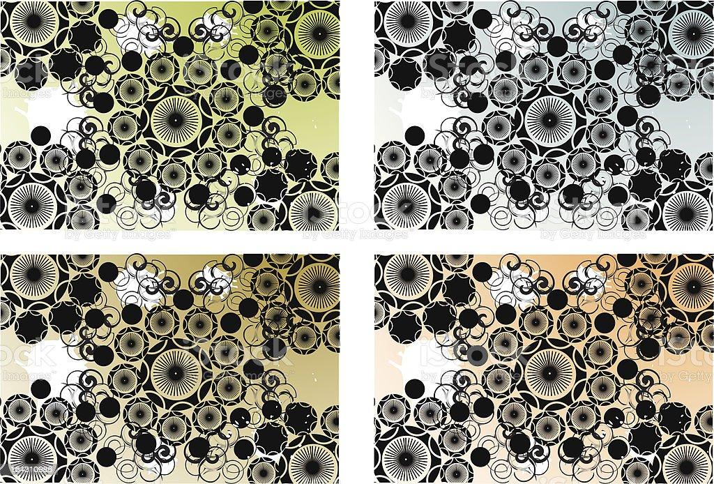 bandana colors royalty-free stock vector art