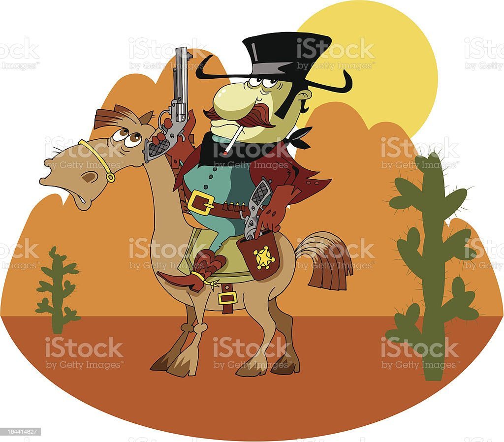 bandito royalty-free stock vector art