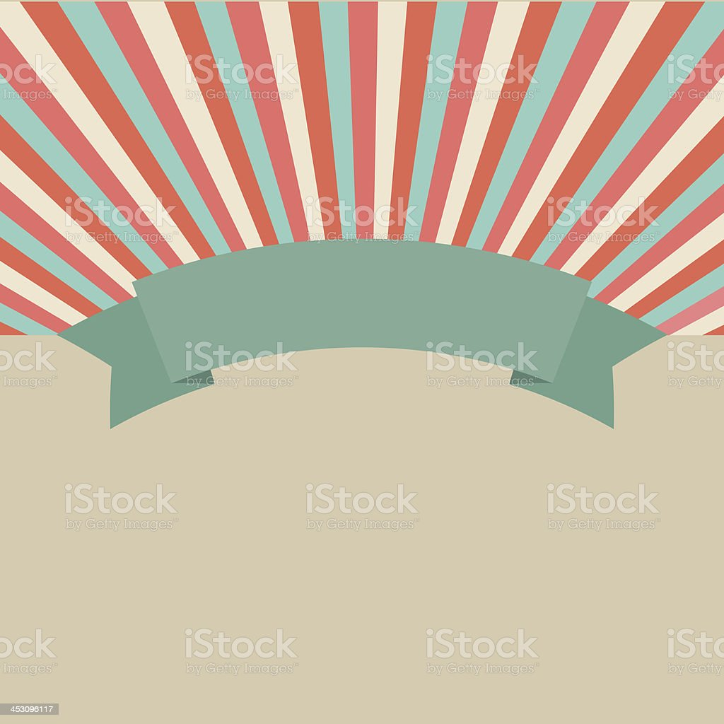 Banner background royalty-free stock vector art