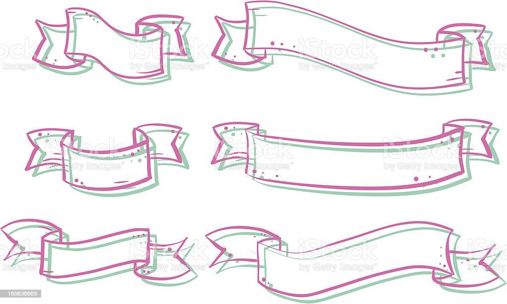 Banner vector art illustration