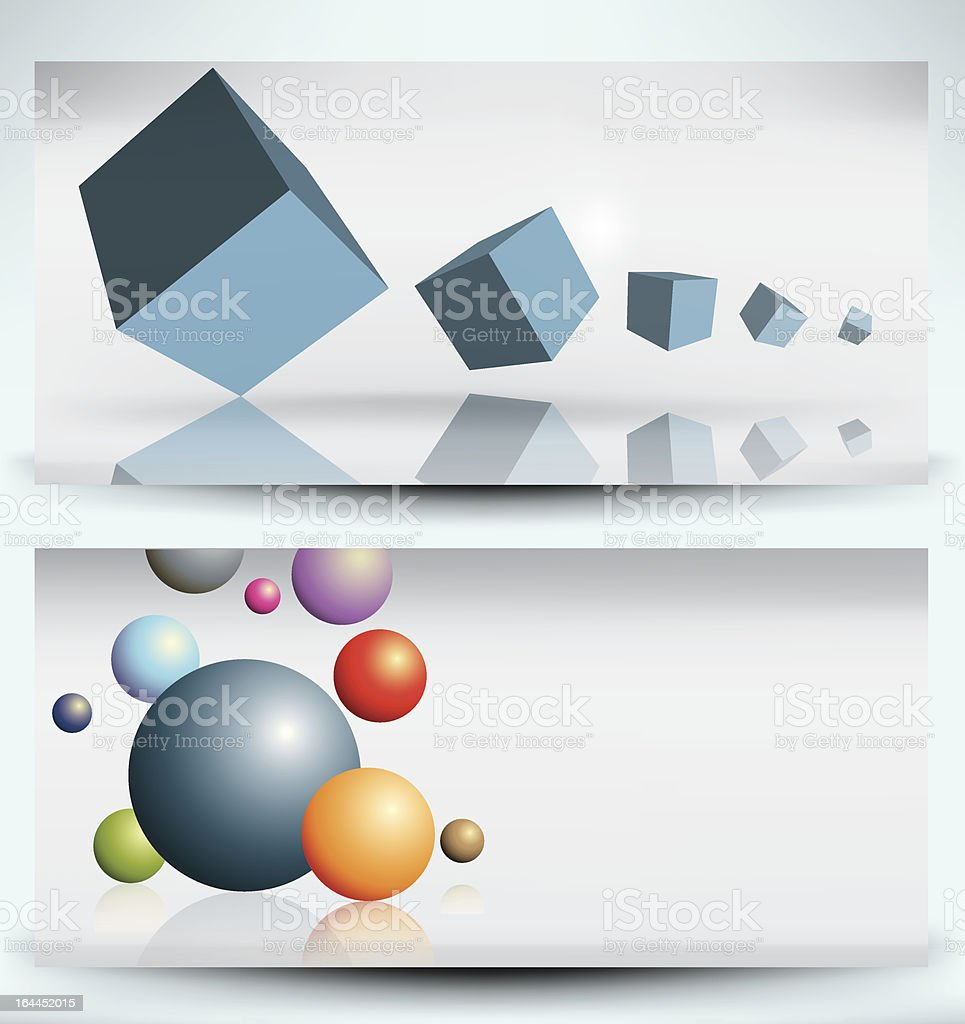banner set royalty-free stock vector art