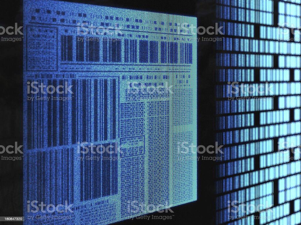 barcode news vector art illustration