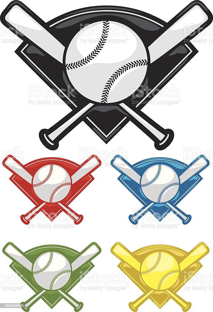 baseball gels vector art illustration