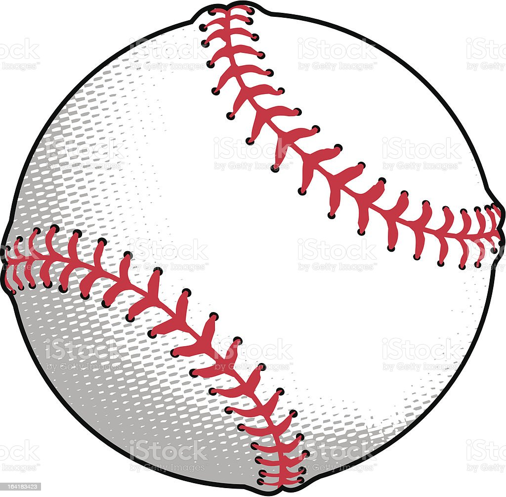 Baseball/Softball vector art illustration