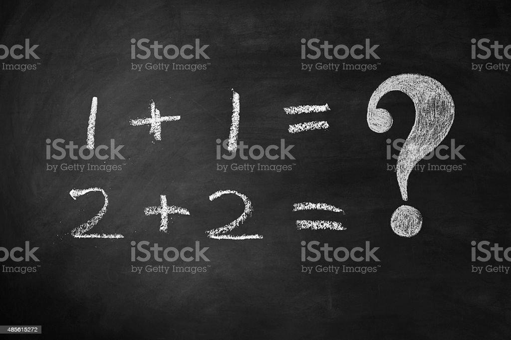 Basic Calculations vector art illustration