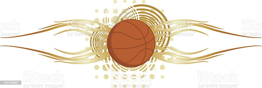 Basketball Art royalty-free stock vector art