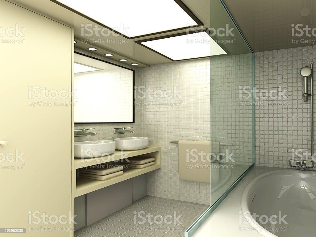 Bathroom royalty-free stock vector art