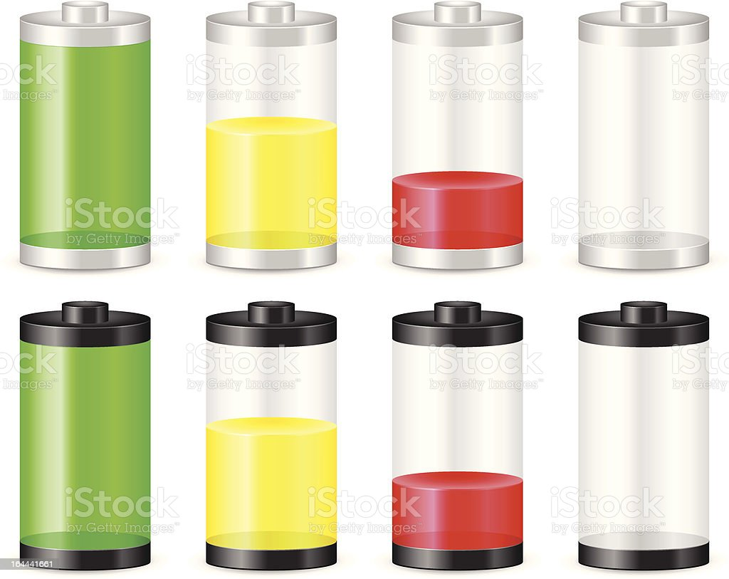 battery pack royalty-free stock vector art