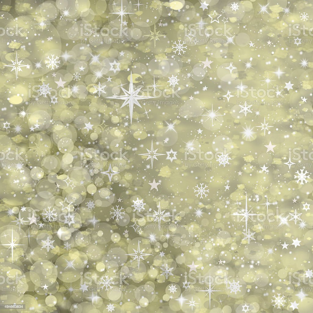 Beautiful abstract background of holiday lights vector art illustration