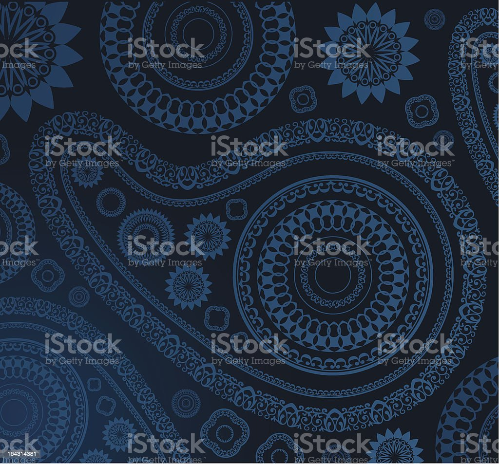 beautiful eastern pattern royalty-free stock vector art