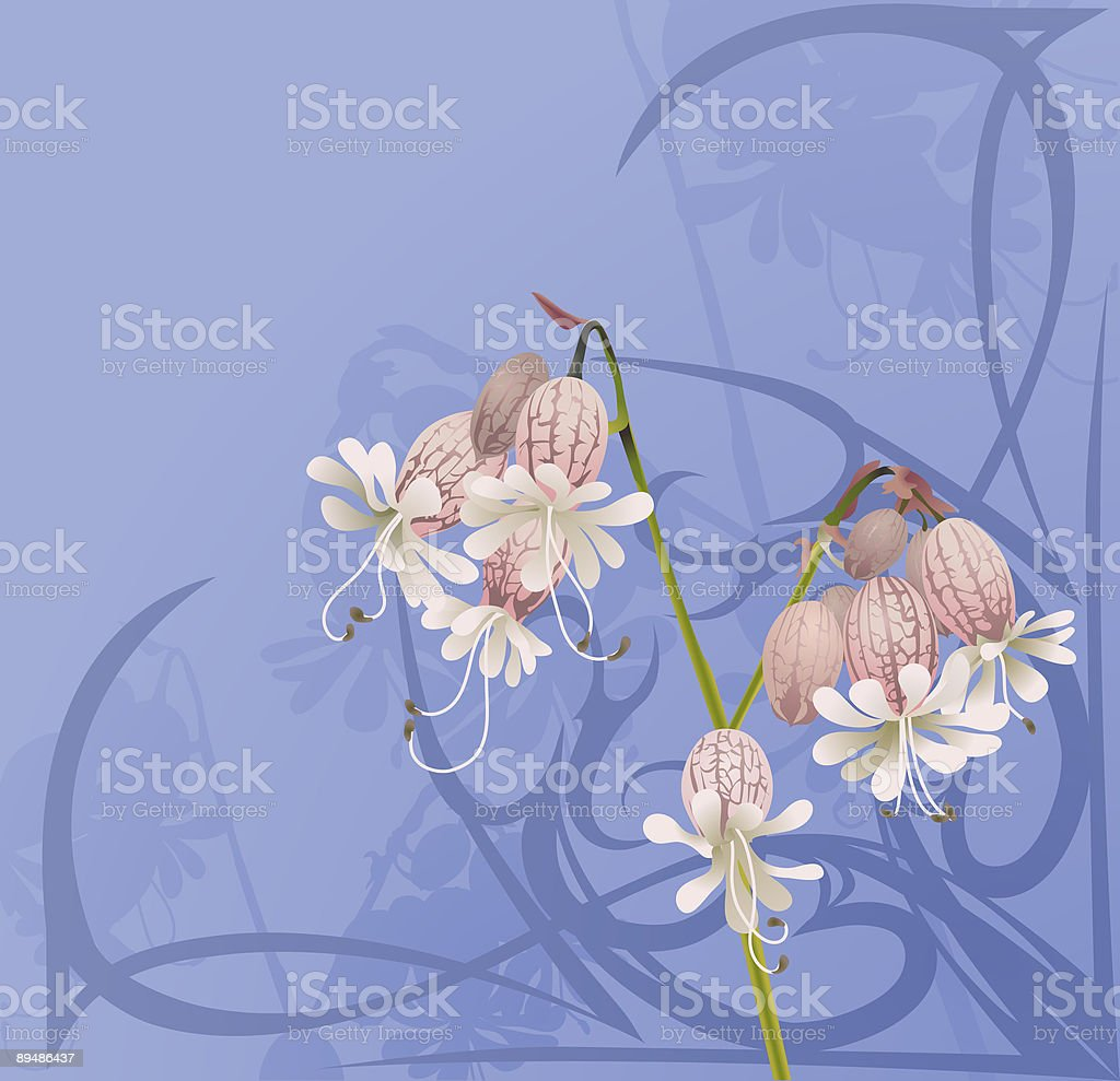 Beautiful Flower Background royalty-free stock vector art
