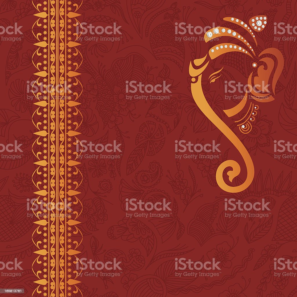 Beautiful Traditional Background royalty-free stock vector art