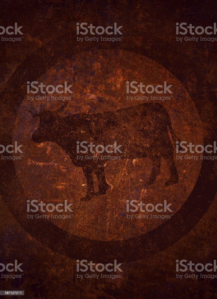 Beefed royalty-free stock vector art