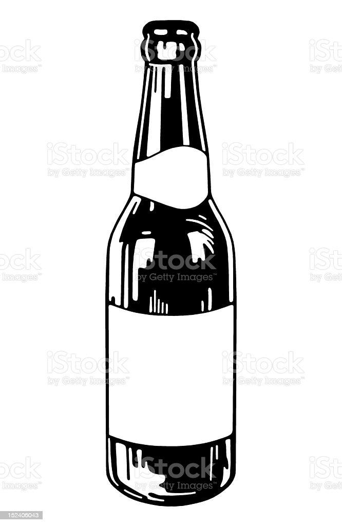 Beer Bottle royalty-free stock vector art