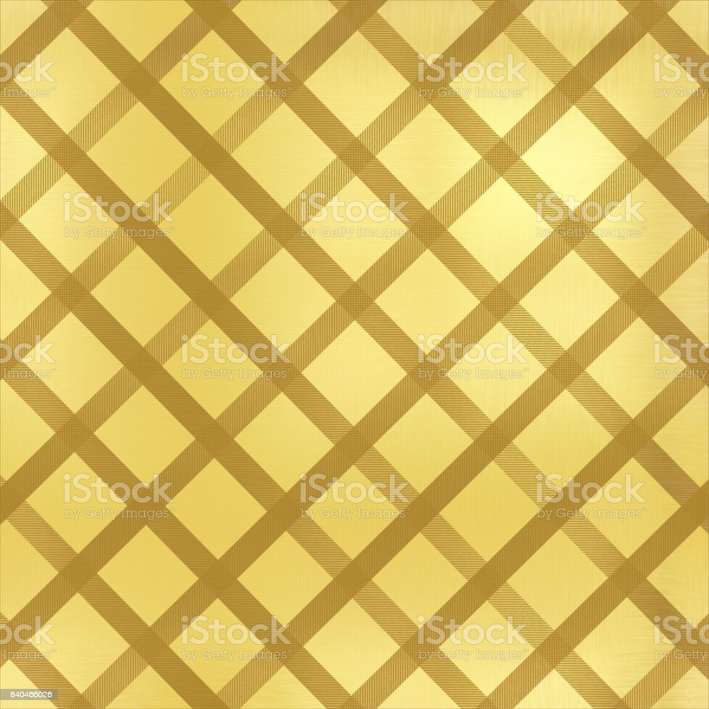 Beige abstract background with diagonal lines and cubes vector art illustration
