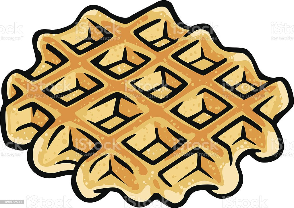 Belgium Waffle stock vector art 165972509 | iStock