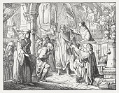Bernard of Clairvaux calls to the 2nd Crusade, published 1881