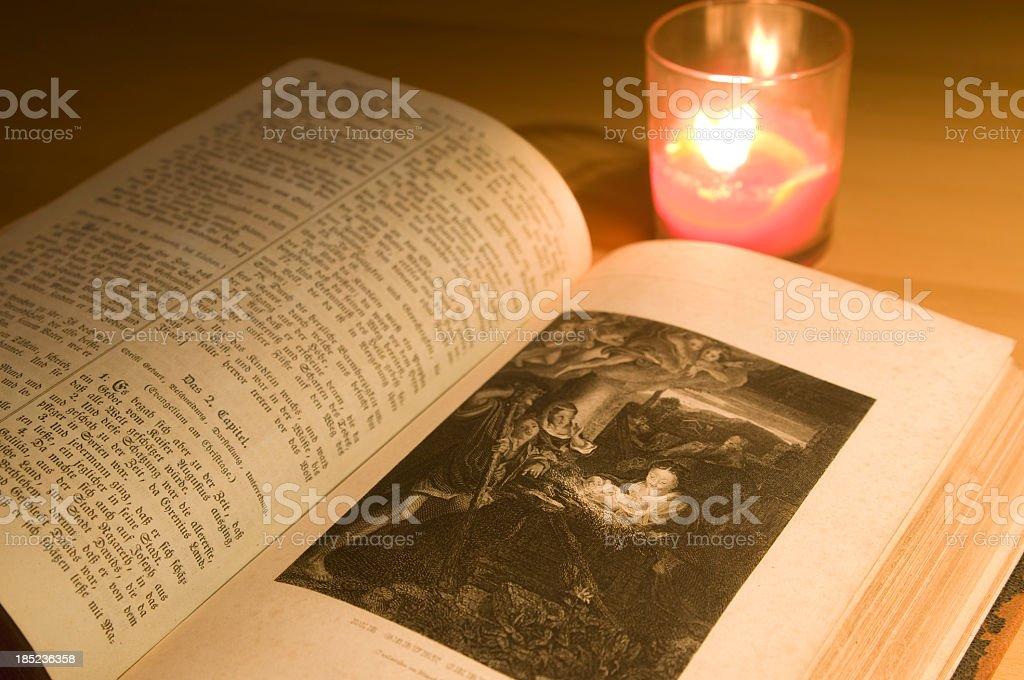 Bible vector art illustration