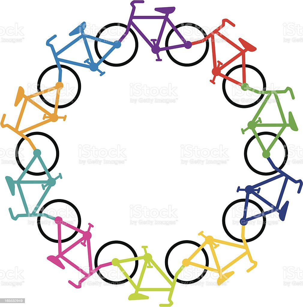 Bicycle Cycle royalty-free stock vector art