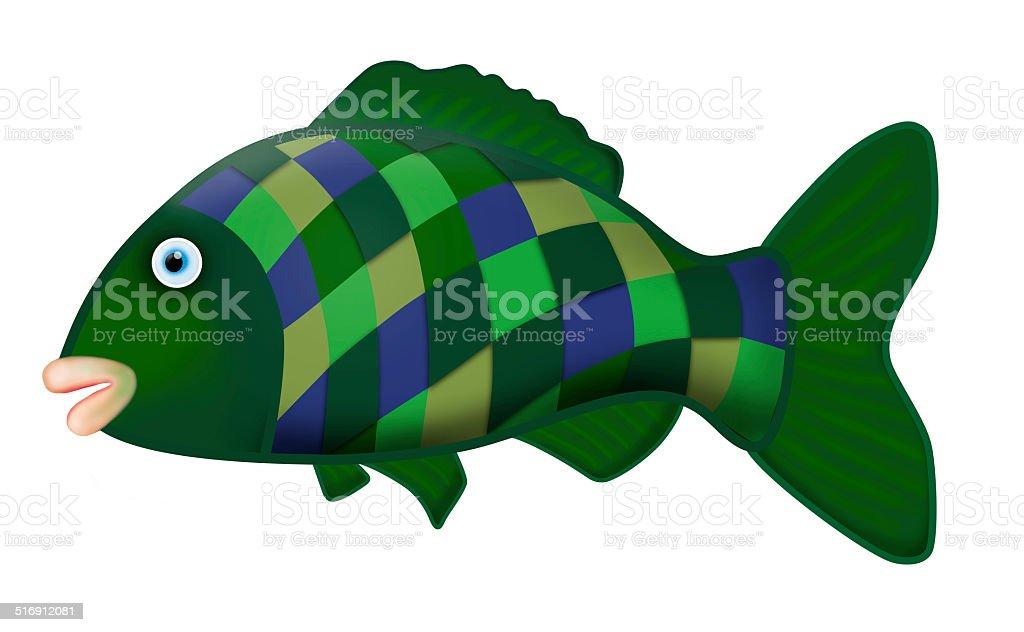Big fish royalty-free stock vector art