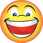 Big Yellow Smiley Happy Face