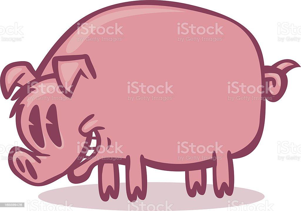 biggy piggy royalty-free stock vector art