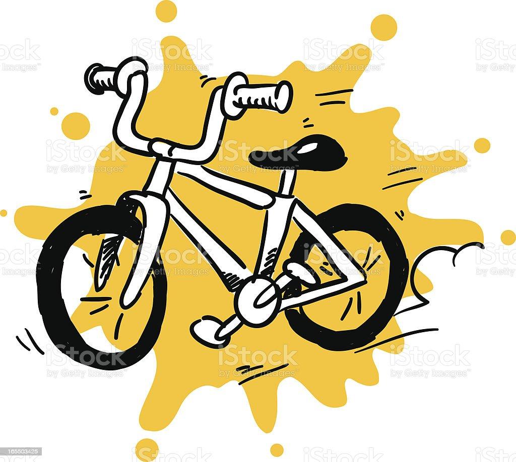 bike time royalty-free stock vector art