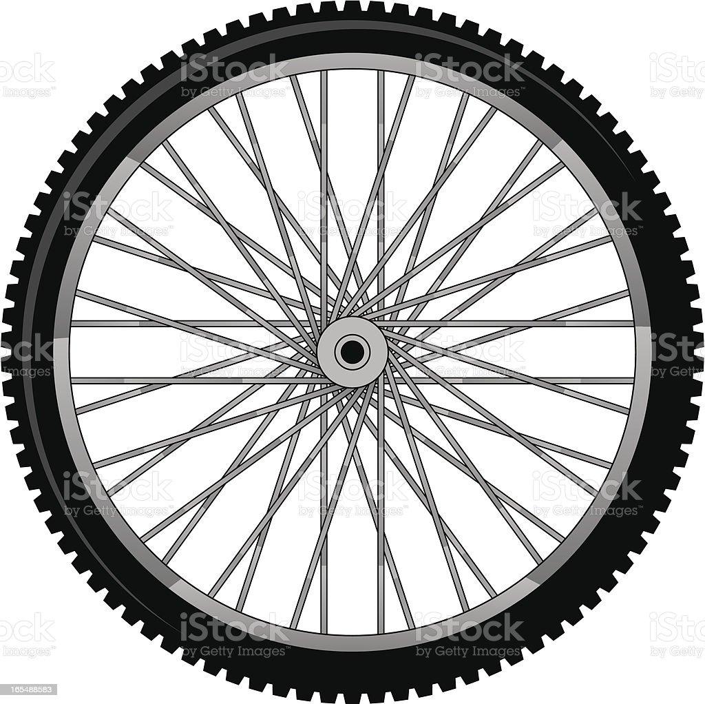 bike tire royalty-free stock vector art