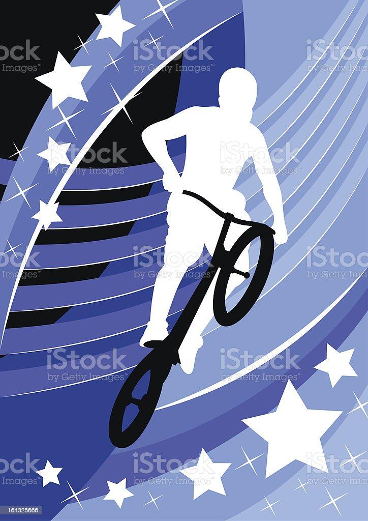 biker royalty-free stock vector art