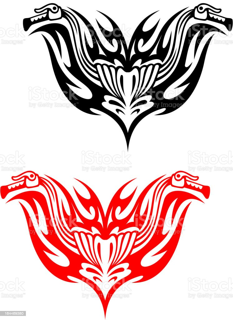 Biker tattoos royalty-free stock vector art