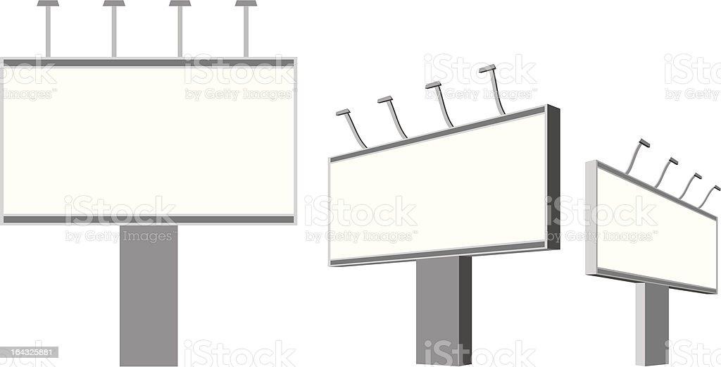 billboard royalty-free stock vector art