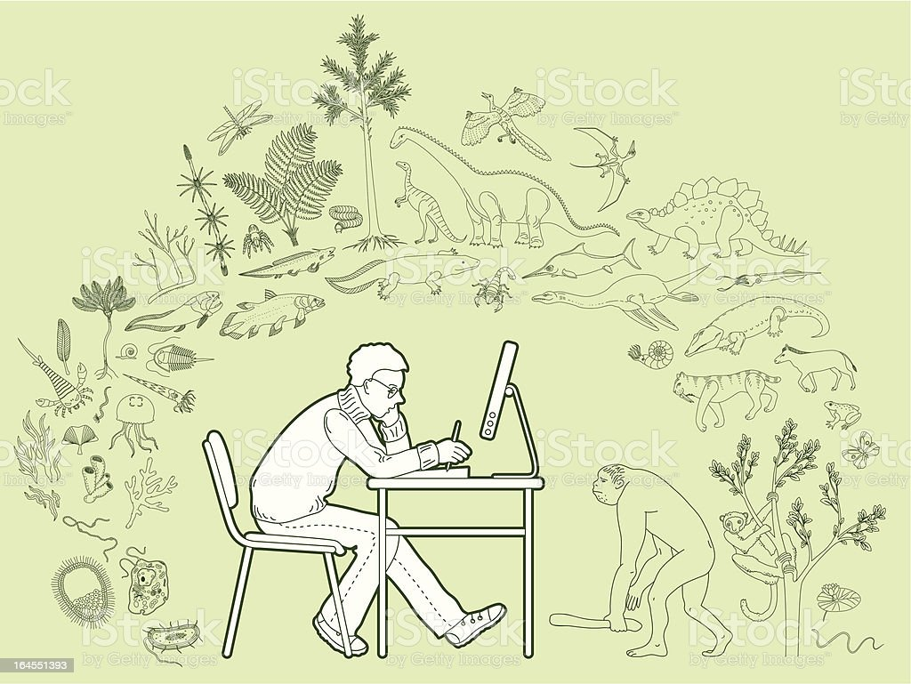 Biology royalty-free stock vector art