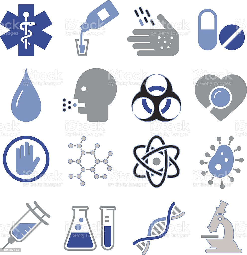 BioMedical Icons - Pro Series vector art illustration