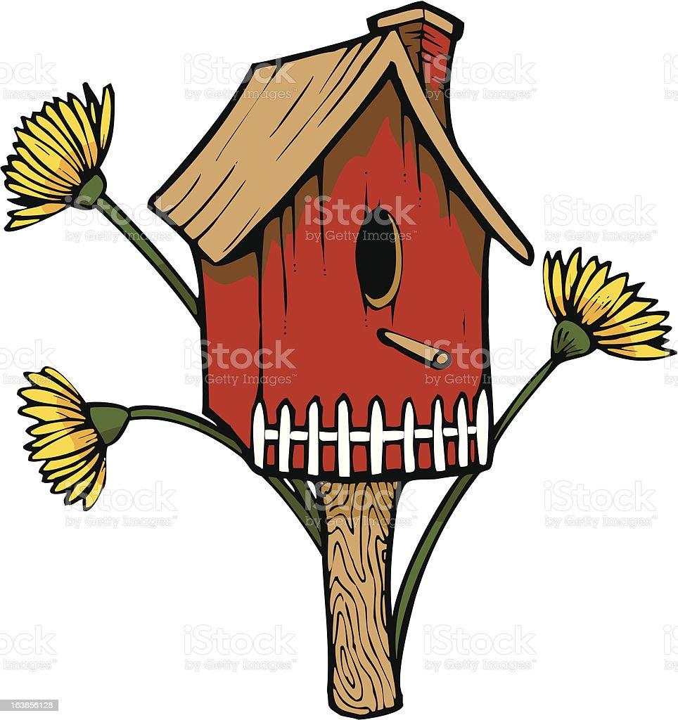 Birdhouse royalty-free stock vector art