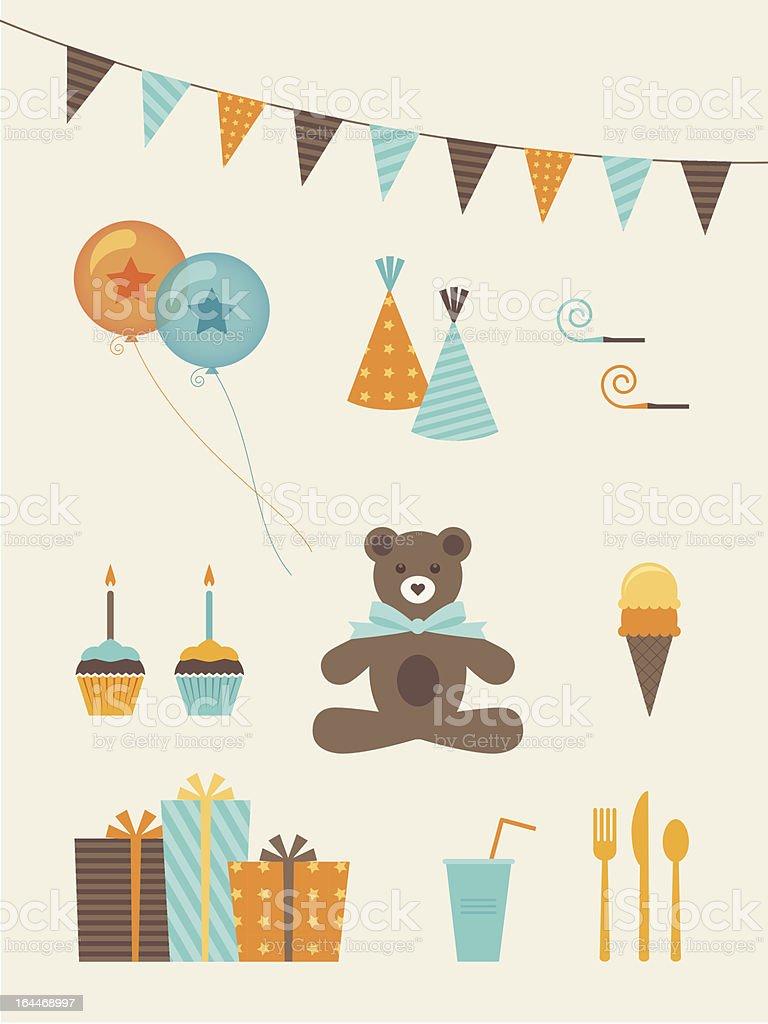 Birthday Boy vector art illustration